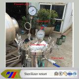 De verticale het Verwarmen van de Stoom van het Type Retort van de Sterilisator van de Autoclaaf