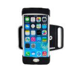 Caja única del teléfono del brazal del deporte al aire libre de silicona para el iPhone