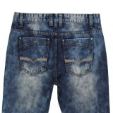 Superior de la venta del último del diseño 2017 hombres del verano de los pantalones vaqueros (MYX10)