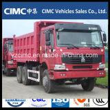 Sinotruk HOWO 6X4 336HP rote Farben-Kipper für Äthiopien