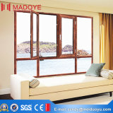 Meilleur double Windows en verre pour le guichet de tissu pour rideaux de Matériau-Aluminium de construction