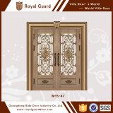 Тип горячего сбывания европейский подгоняет двойную дверь двери обеспеченностью двери медной двери стальную