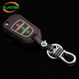 Alta calidad personalizada coche clave protección cuero cubierta caso