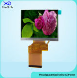 Luminance multiplex 500CD/M&sup2 de module d'affichage à cristaux liquides de lecteur ; Écran LCD de 3.5 pouces