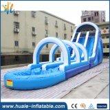 Longue glissière gonflable intéressante de jouet de l'eau de glissière pour l'amusement