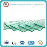 vidrio de flotador del claro de 5.5m m para el edificio