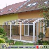 Sunroom di vetro di alluminio fatto del cliente per il solarium