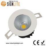 ponto Downlight da ESPIGA do CREE de 0-10V 9W