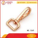 Crochet en alliage de zinc de rupture de matériel d'or de Rose de mode pour des sacs à main/sacs/courroie