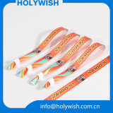 Wristbands plásticos del encierro de Silider de la alta tela de Quanlity para las ventas