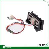Msr009 con lector de tarjetas más pequeño de la raya magnética de Bluetooth el mini, programa de lectura sin hilos Msr009 de la tarjeta magnética con la función de Bluetooth