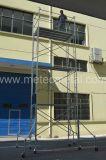 De Steiger van het frame (Metselaar, gang-door, ladder, stutselFrame)
