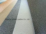 Cuir gravé en relief de PVC d'impression pour le capitonnage de sac/sofa/meubles