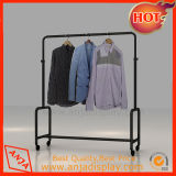 Блоки Shelving индикации магазина стеллажей для выставки товаров одежды металла с крюком