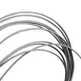 6*19FC de gegalvaniseerde Opheffende Kabel van de Draad van het Staal