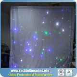 Éclairage LED et rideau léger en étoile de RVB