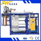Láminas de fibra química que hace la máquina