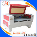 Cortadora profesional del laser para el proceso de la tarjeta de felicitación (JM-1590H-CCD)