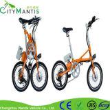 Bici eléctrica de la bici de E con los pedales