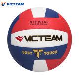 Ballon professionnel professionnel de volleyball en éponge en PU