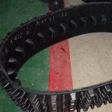 Gummispur mit der 320mm Breite für Schnee-Gebrauch, mit kundenspezifischen Rädern
