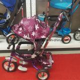 Passeggiatore del bambino del metallo del giocattolo della carrozzina della bambola di modo del metallo