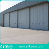 Isolé glissant des portes de hangar