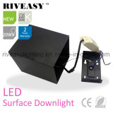 iluminación de Downlight Black&White LED de la superficie de la MAZORCA de 20W LED