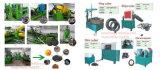 Reifen-Abfallverwertungsanlage, verwendete Reifen, die Maschinen, Gummireifen aufbereiten Zeile aufbereiten