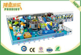 Campo da giuoco esterno di plastica del castello meraviglioso dei bambini con il tema di tecnologia