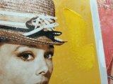 Pintura al óleo de la decoración con el marco