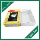 Rectángulo de empaquetado de Cardbaord de la cereza fresca con la ventana clara del PVC