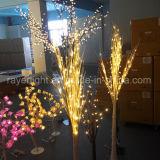 Luz comercial do galho da árvore de Natal do diodo emissor de luz para a decoração do festival