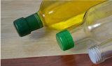 transparente bleifreie quadratische Glasflasche des Olivenöl-750ml