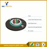 Câble fibre optique uni-mode d'armure extérieure