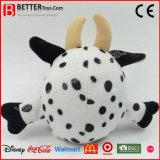 Kids / Baby Gift Round Animal recheado Peluche Toy Cow