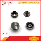 Kundenspezifische Spitzenmetallzinke-Verschluss-Taste des chinesischen Herstellers