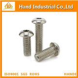 ISO7380 vis de plot principale de bouton de l'acier inoxydable 304