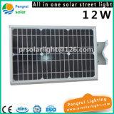 lumière extérieure économiseuse d'énergie solaire de jardin de détecteur de mouvement de 12W DEL