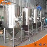 Micro tanques de fermentação cónicos inoxidáveis Home da cerveja do aço 200L para o teste da venda usado