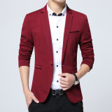 남자 한 벌 남자 한 벌 재킷 우연한 블레이저 코트를 위한 새로운 도착 고품질 한 벌 재킷 남자 재킷