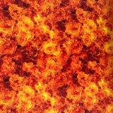 Пленка печатание перехода воды конструкции PVA пламени Kingtop 1m широкая гидрографическая Printable для гидро окунать с цветом красной сини Wdf9057