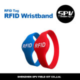 Wristbands impermeables adultos ISO14443A del Hf de RFID