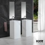 Großhandelsbadezimmer-festes freistehendes Wäsche-Oberflächenbassin