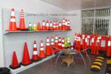 Jiachen 공장 도매 건축 사용을%s 빨간 플라스틱 소통량 방벽