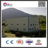 El taller de la estructura de acero del palmo grande con instala servicio