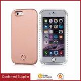 中国からのバルク買物は2016の熱い製品iPhoneの6/7ケースのためのSelfie LEDの携帯電話の箱を照らした
