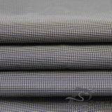 Acqua & degli abiti sportivi prodotto nero intessuto rivestimento esterno Vento-Resistente 100% del filamento del filato del poliestere del jacquard del plaid giù (FJ010F)