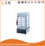 Vapor eléctrico comercial del alimento de la visualización de Sc-600h para la venta