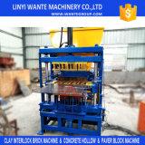 Máquina de fatura de tijolo de bloqueio inteiramente automática do solo Wt4-10 e da argila